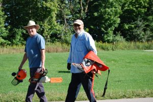 Land Stewards Prepare for Trail Maintenance