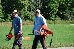 Land Stewards Prepare for Trail Maintenance