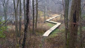 New Boardwalk Trail completed in October