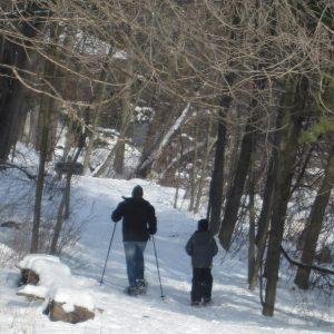 Lac Lawrann – Perfect for Snowshoeing in Winter!