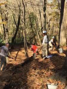 Volunteers Help to Continually Develop New Trails