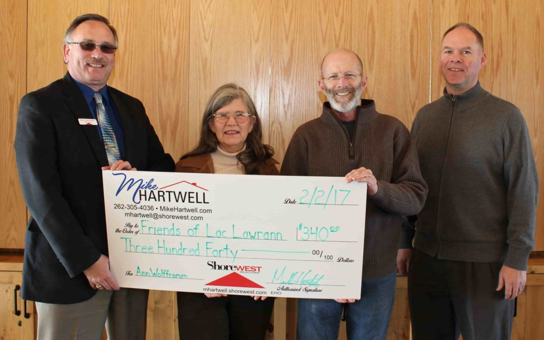 Home Sale Results in Donation to Lac Lawrann