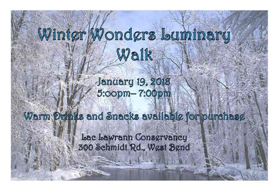 Winter Wonders Luminary Walk