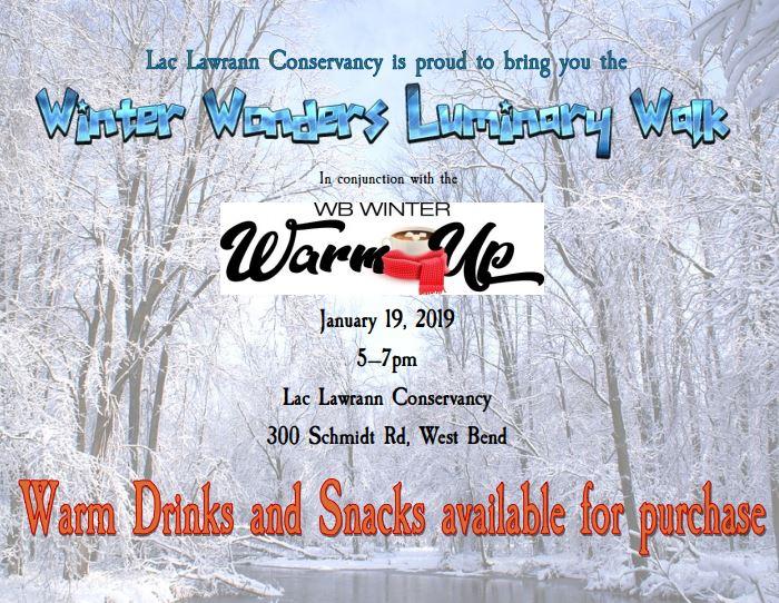 Winter Wonders Luminary Walk – 1/19/19