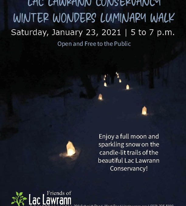 Winter Wonders Luminary Walk – Save the Date