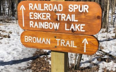 "A Connector Trail is Now Known as ""Broman Trail"""